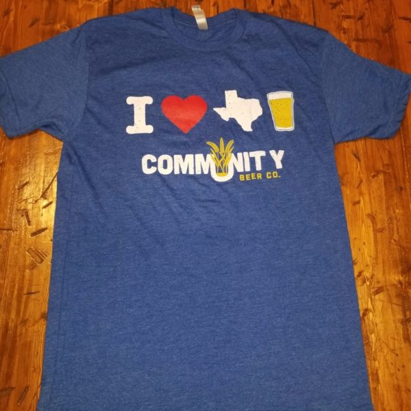 I Heart Texas Beer Tshirt