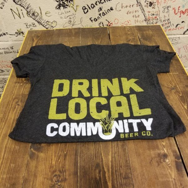 Ladies Drink Local V-Neck