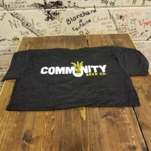 Vintage Black Community Logo Tee