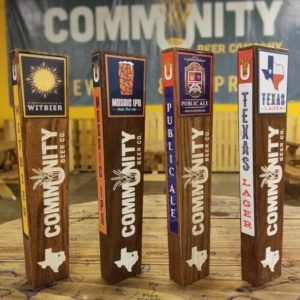 Community Beer Co. Tap Handle