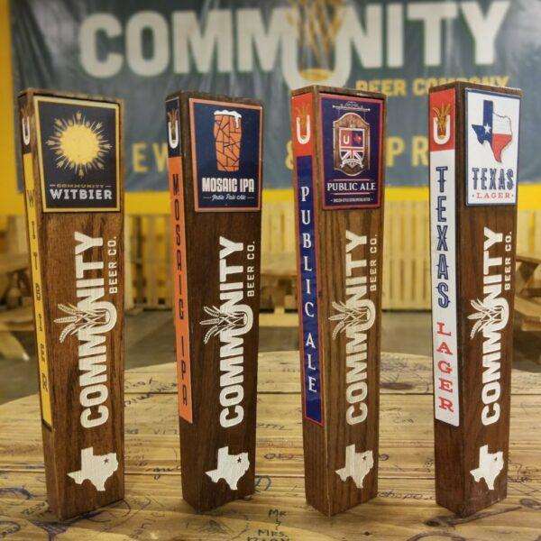 Community Beer Co. Tap Handle