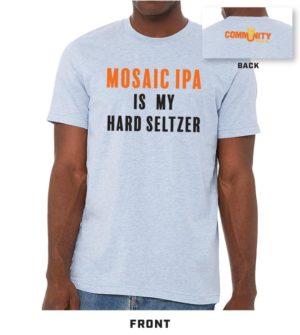 Community Mosaic Seltzer blue