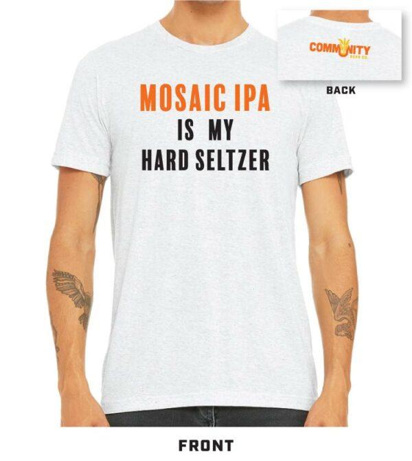 Community Mosaic Seltzer white