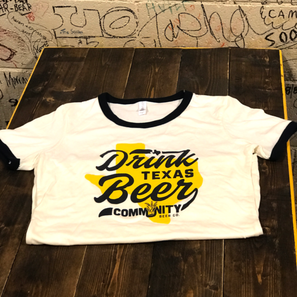 Drink Texas Beer Mens Ringer