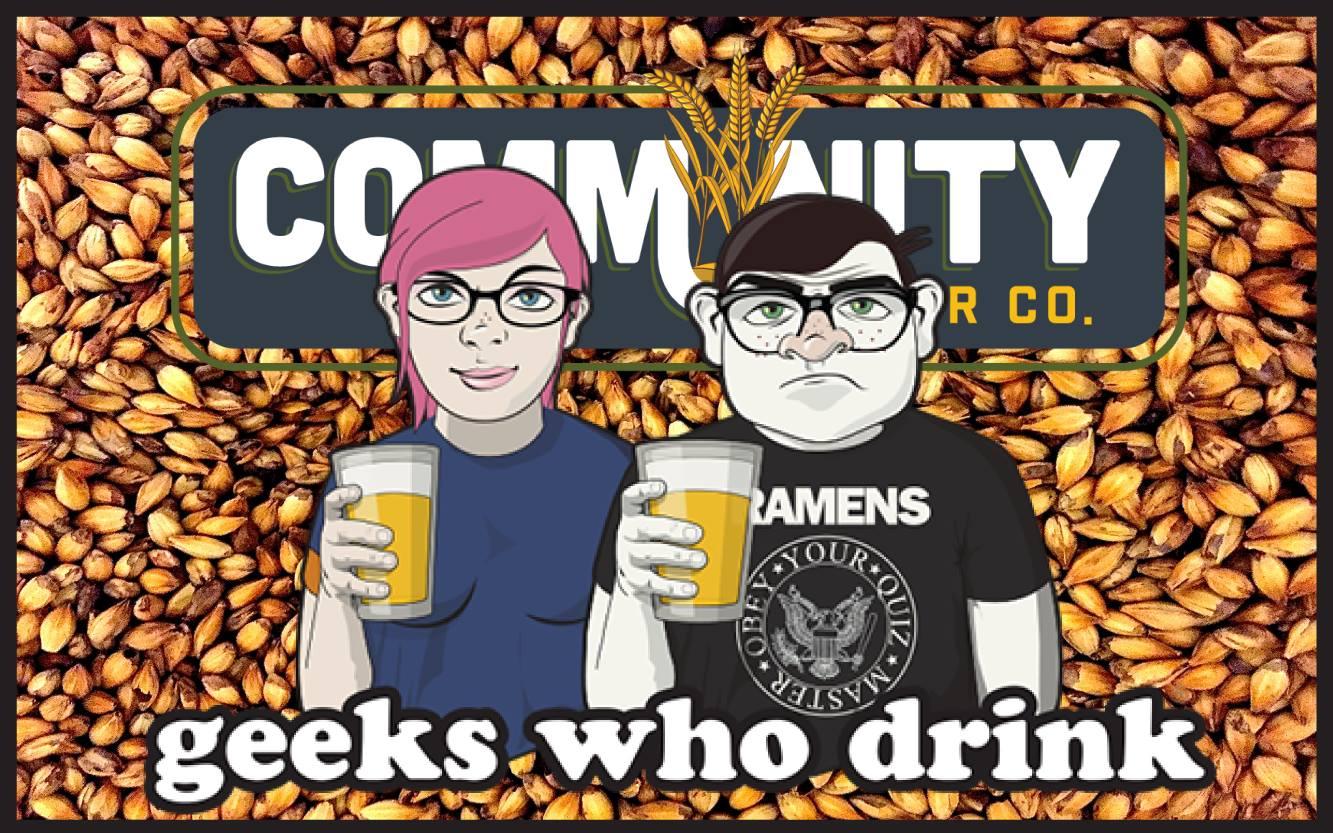 Geeks Who Drink Community Beer